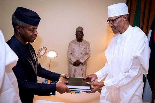 Updated: Osinbajo submits SGF, DG NIA's probe report to Buhari