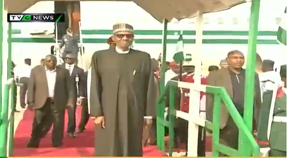 Ekiti APC, civil society groups march to celebrate Buhari's return