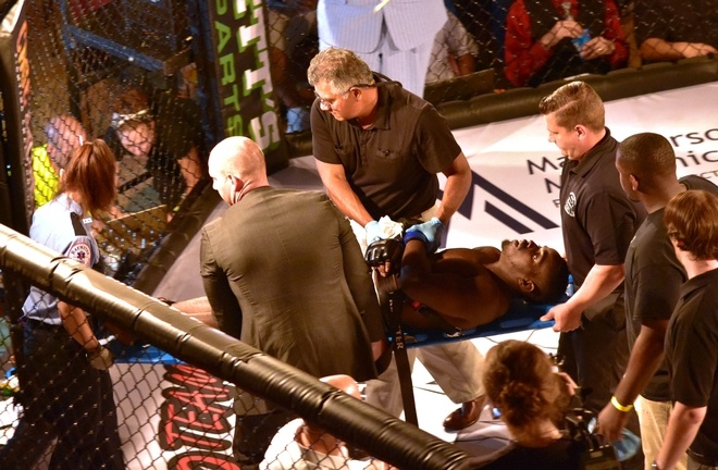 MMA fighter dies on the ring in weekend fight