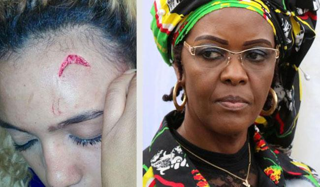 Zimbabwe's Grace Mugabe leaves South Africa despite assault claims