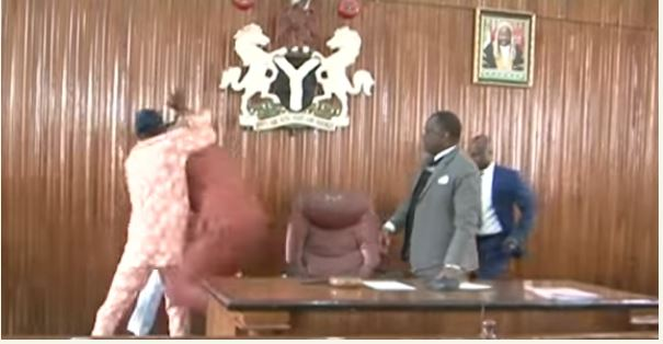 Edo lawmakers exchange blows over speaker's removal