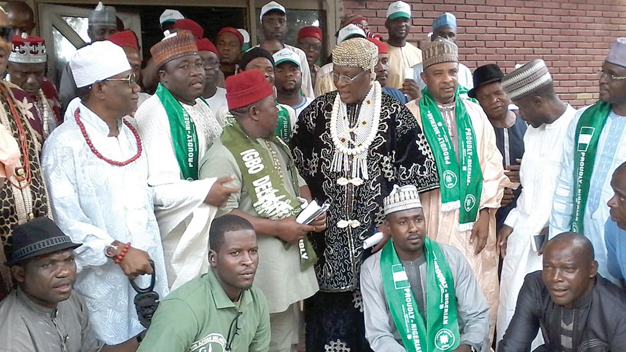 Igbo Delegates and Northern Youth Groups meet in Kano for peace talks
