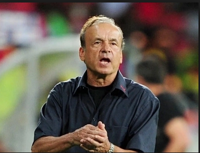 Eagles Coach Rohr vows to beat Cameroon for Ikeme