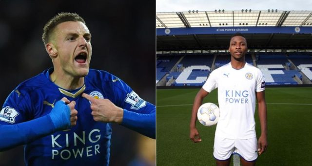 """""""I want to learn pidgin English because Nigerian players keep speaking it""""- Leicester City striker Jamie Vardy"""