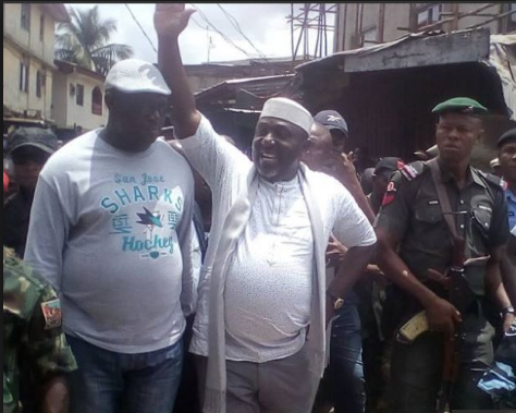 Market demolition best thing for state, says Okorocha