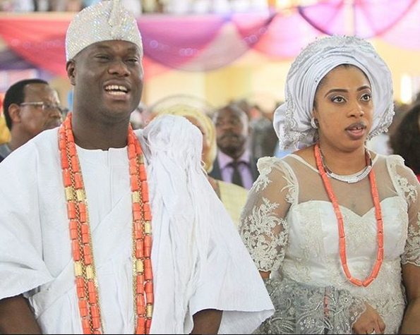 Ooni of Ife dazzles in new palace, amidst unconfirmed marriage break up rumour