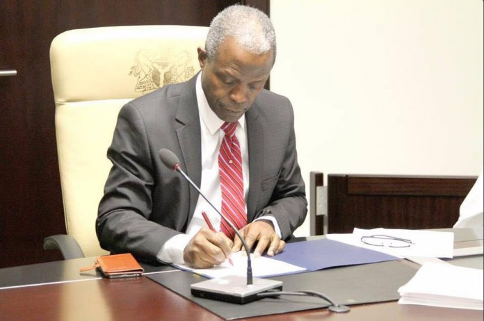 Osinbajo redeploys ICPC boss, sets up committee on looted funds