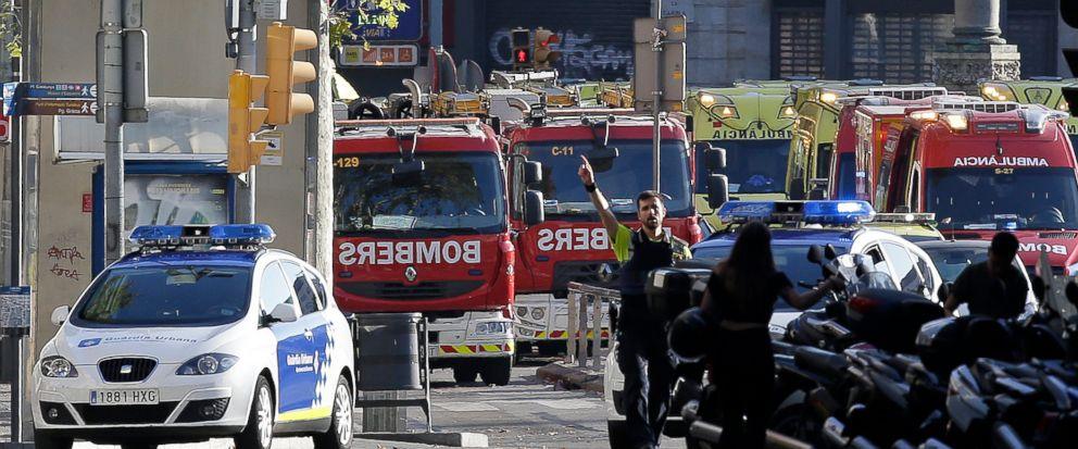 Pence condemns Barcelona Van attack