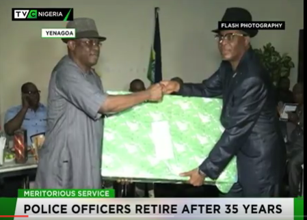 Bayelsa: Three Police officers retire after 35 years