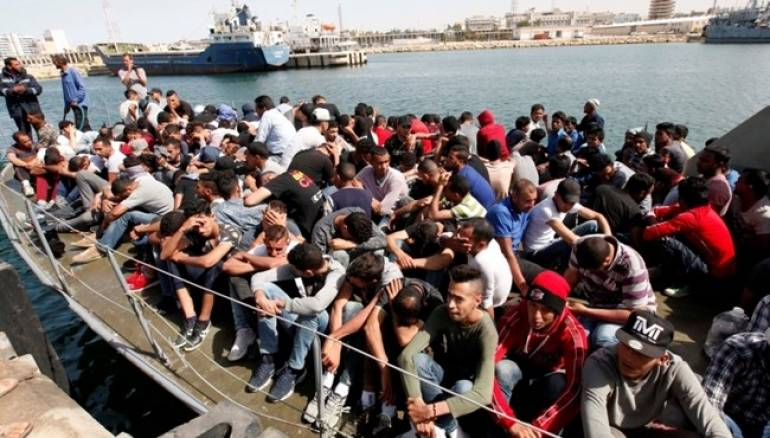 166 migrants rescued off Libyan coast in overnight joint operation
