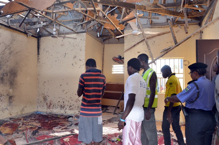 Three suicide bombers killed in Maiduguri blasts