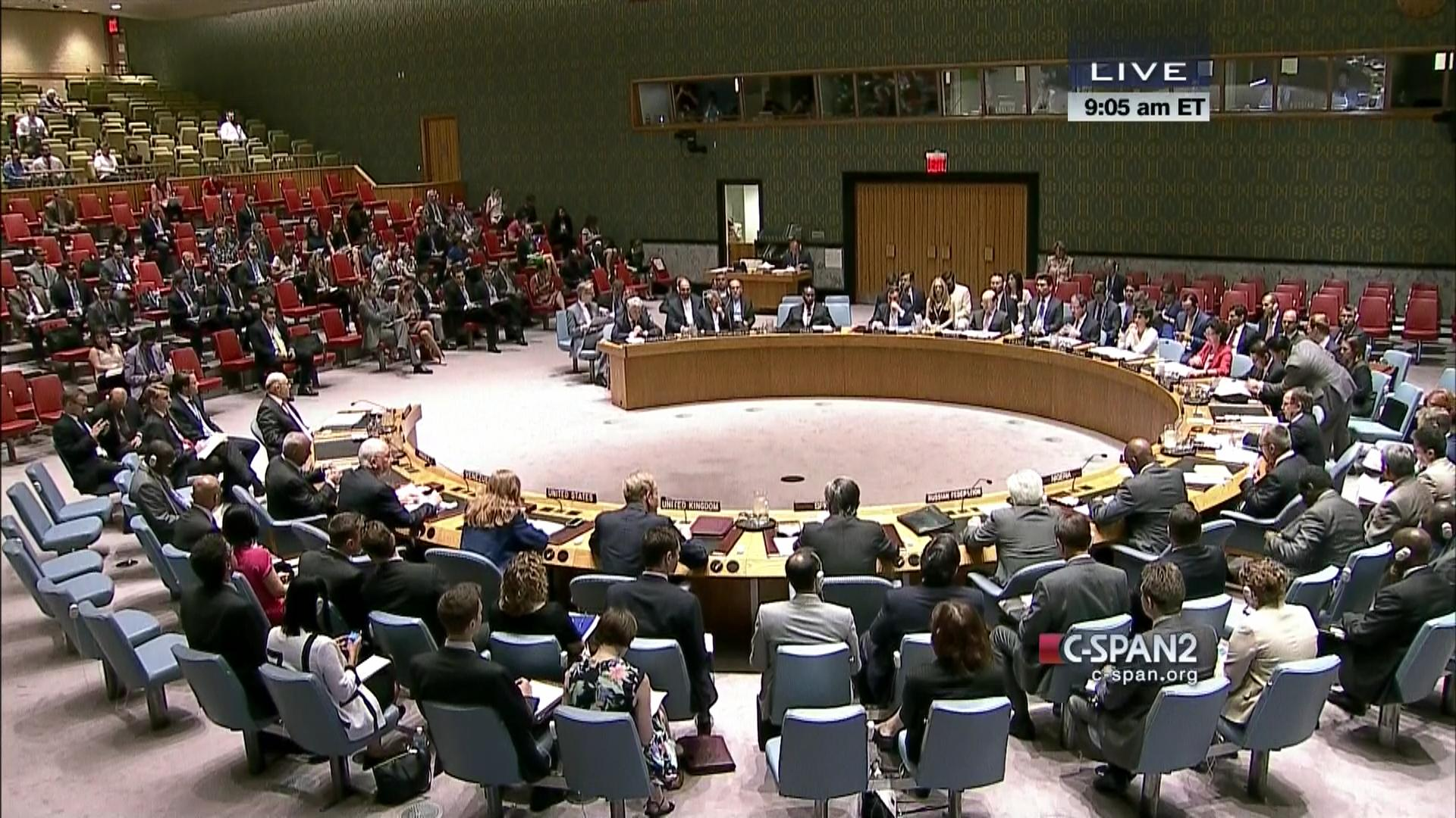 Russia implores UN Security Council to apply dialogue