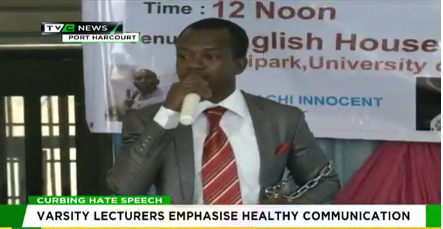 Varsity lecturers emphasize healthy communication