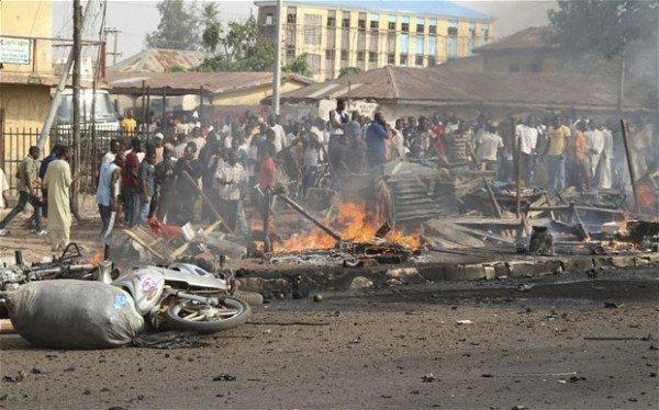 Yobe bomb blast : Two killed, three injured along Damaturu-Biu road
