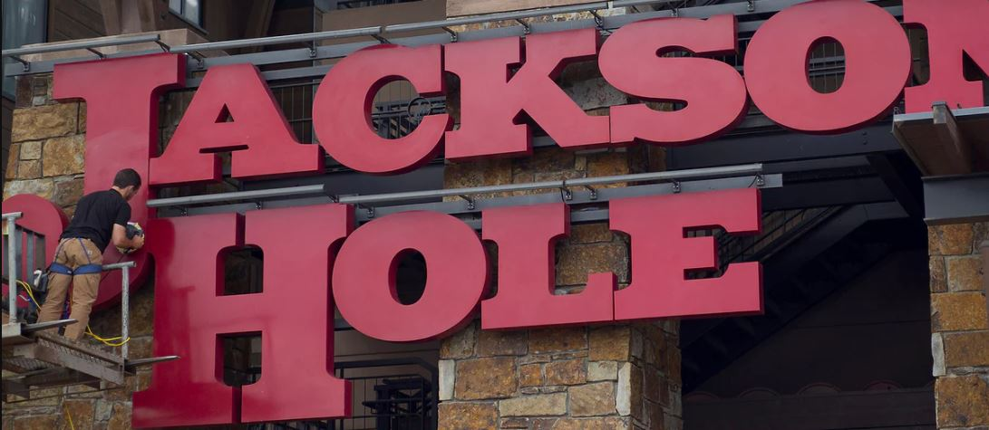 World stocks steady; focus on Jackson Hole keeps market cautious