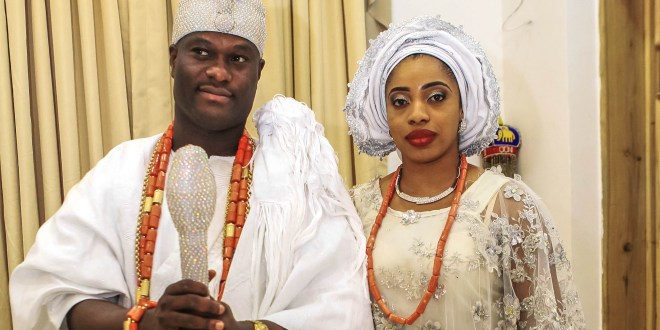 Ooni of Ife's wife, Olori Wuraola confirms marriage crash