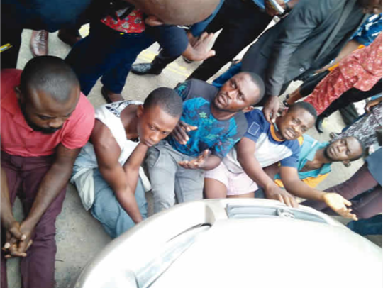 Lagos Police Command Parades 6 Over Death of Gulder Ultimate Search winner, Hector