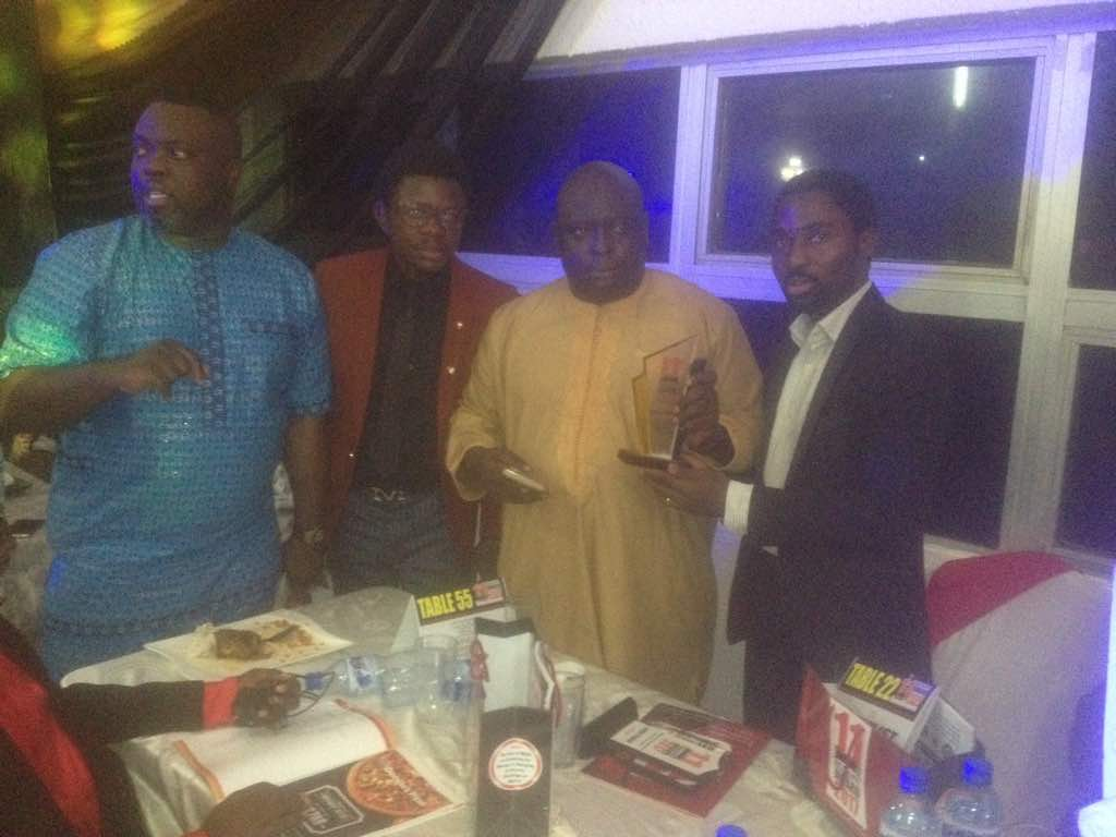 TVC talk show Journalists' Hangout bags award