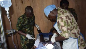 Nigerian Air Force provides free surgical care to IDPs