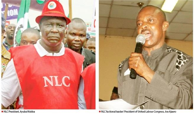 TUC, NLC ask F.G. to disregard ULC's threat
