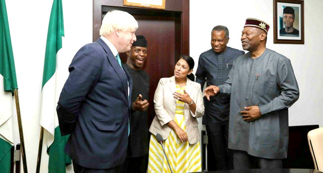 FDI : Nigeria  ready to partner the U.K. – Osinbajo