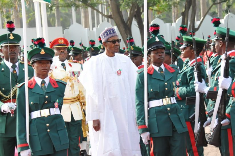 President Buhari tasks Armed Forces to safeguard Nigeria's unity