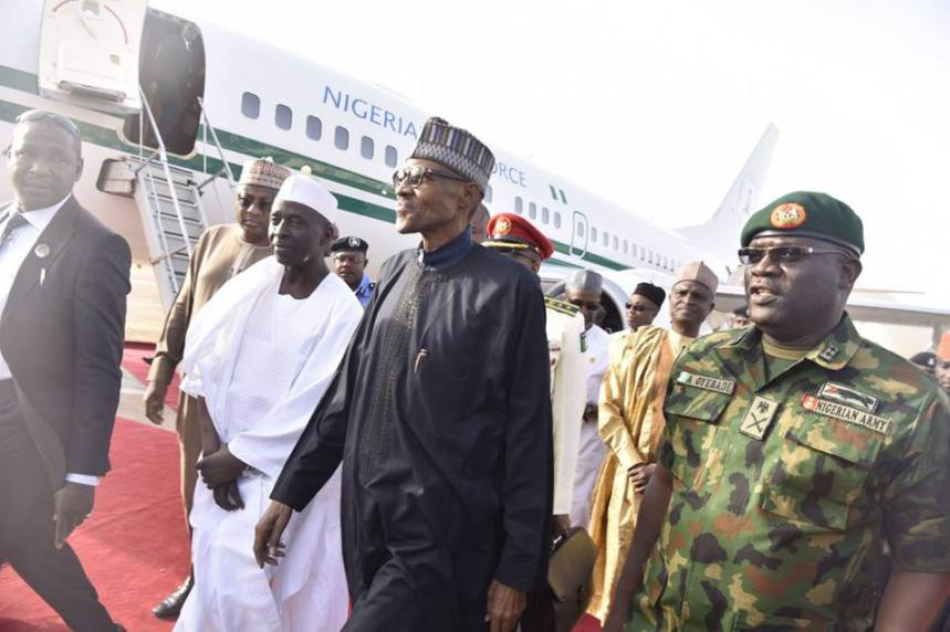 Presidency announces Buhari's trip to US next week