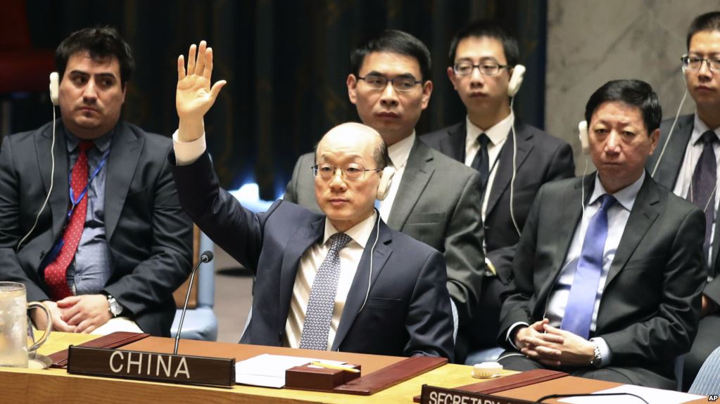 China implements United Nations on North Korea