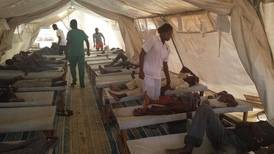 WHO deploys 39 staff to combat cholera in northern Nigeria