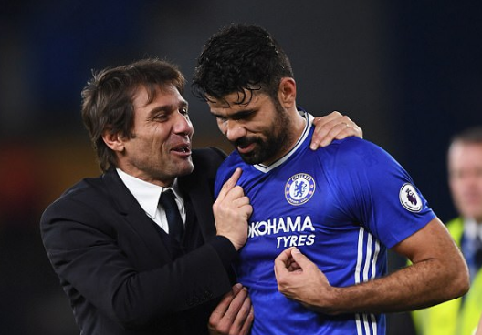 No Conte animosity as Costa jets off to Spain for Atletico
