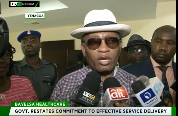 Bayelsa govt restates commitment to quality healthcare delivery