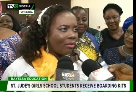 Bayelsa governor's wife restates commitment to Ijaw girl-child education