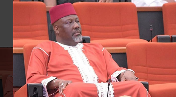INEC officials storm NASS to notify Dino Melaye of recall petitions
