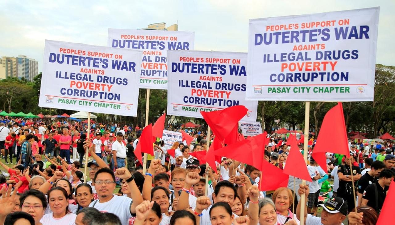 Pro-, anti-Duterte protests rock Philippines