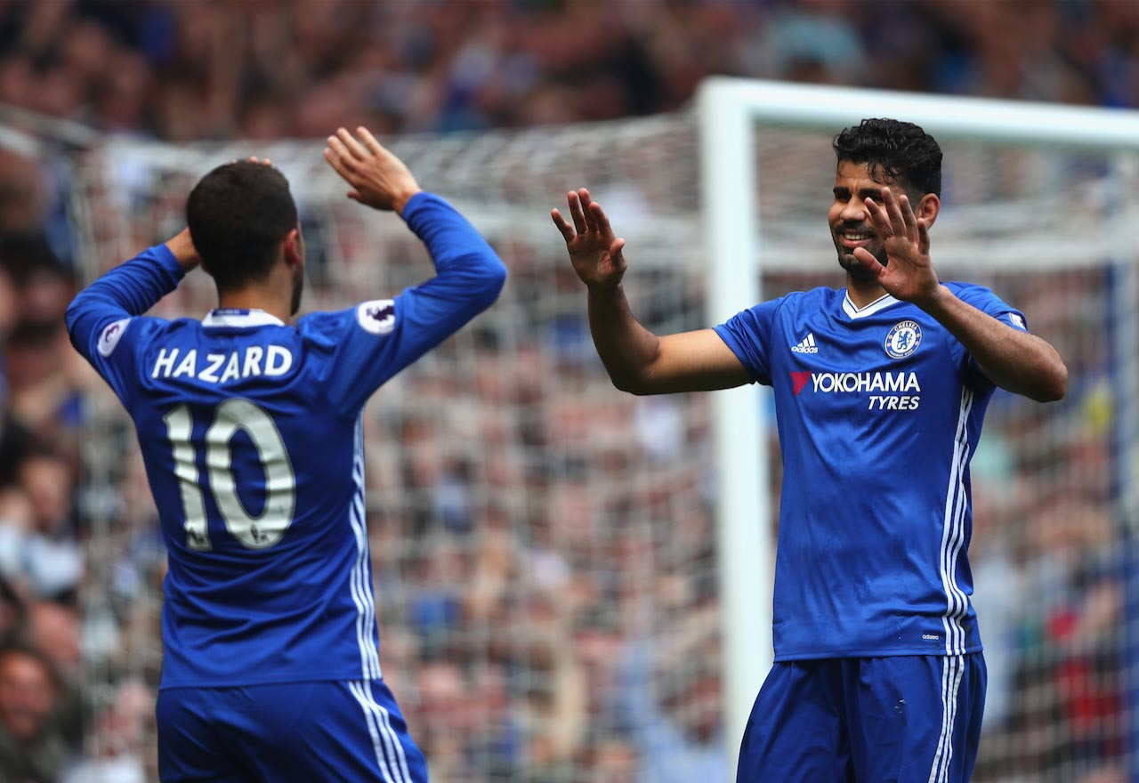 Hazard wants Diego Costa to make Chelsea return