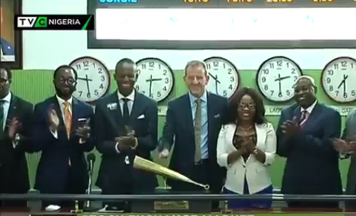 TVC News Management closes day's trading at Nigerian Stock Exchange