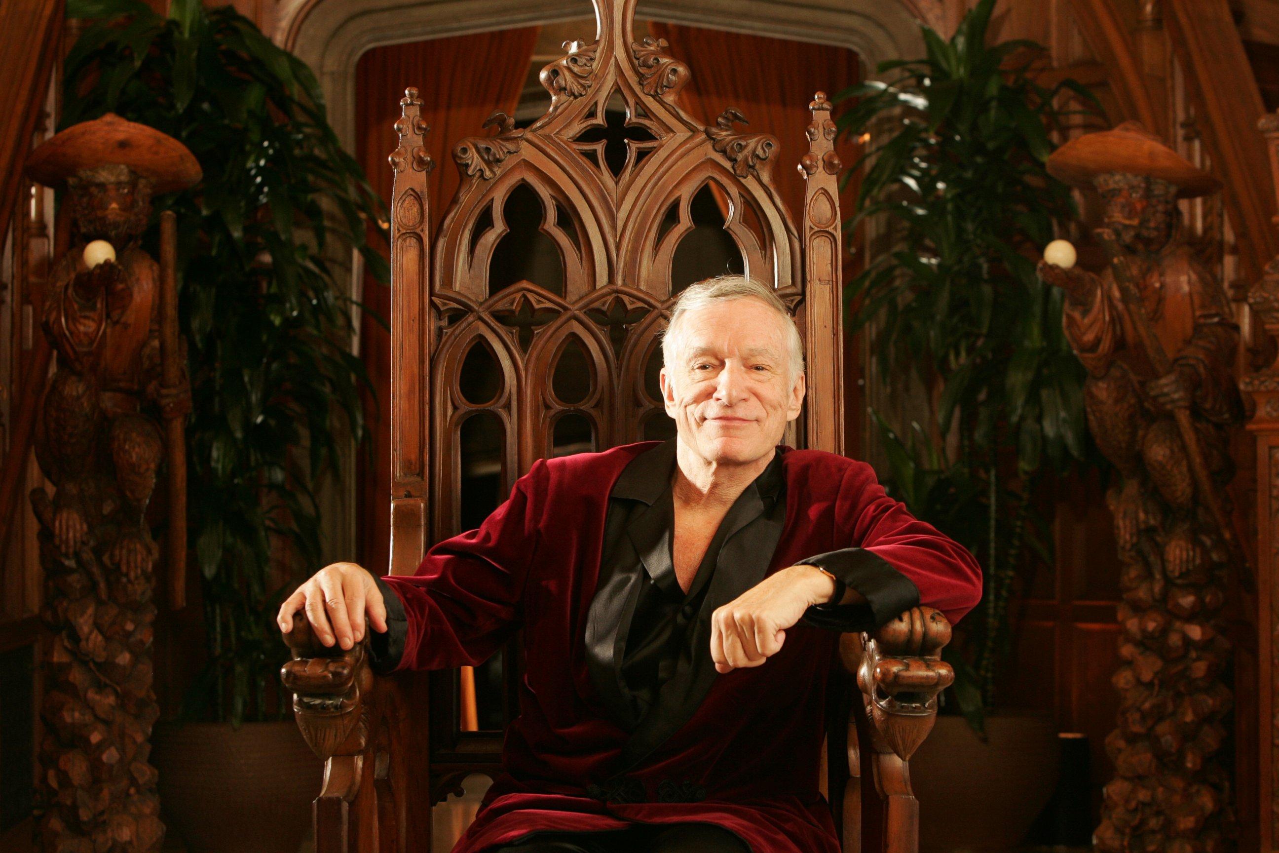 Playboy founder Hugh Hefner is dead