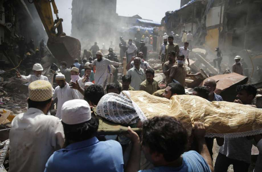 Death toll from India building collapse climbs to 33