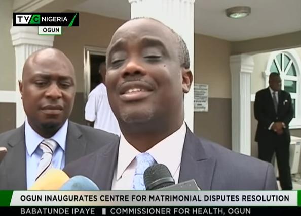 Ogun inaugurates Centre for Matrimonial Disputes Resolution