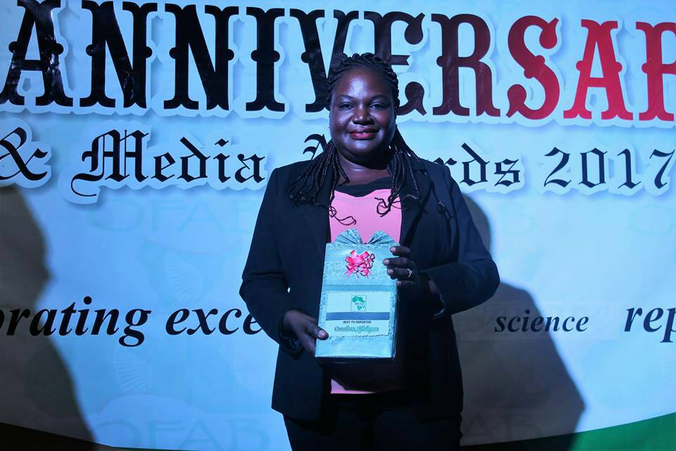 OFAB Awards: TVC's Lara Afolayan emerges best Reporter