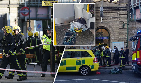 London Attack: Explosion being treated as terrorism