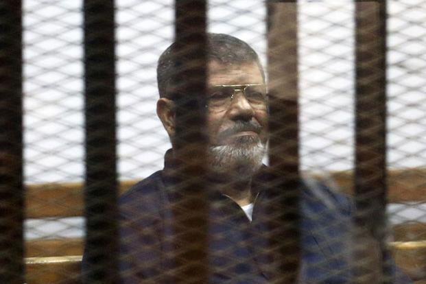 Egypt court sentences Mursi to 25 years in Qatar spy case