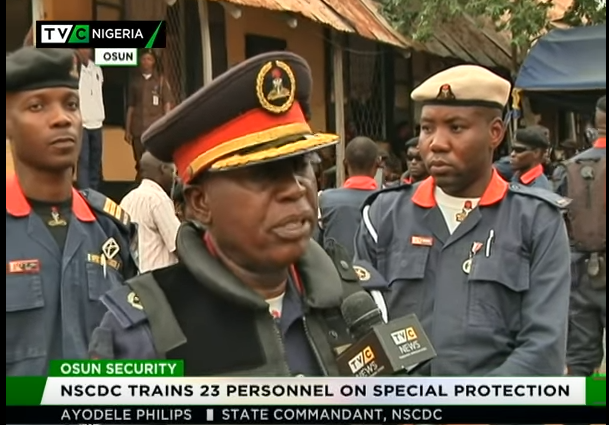NSCDC trains 23 personnel on special protection