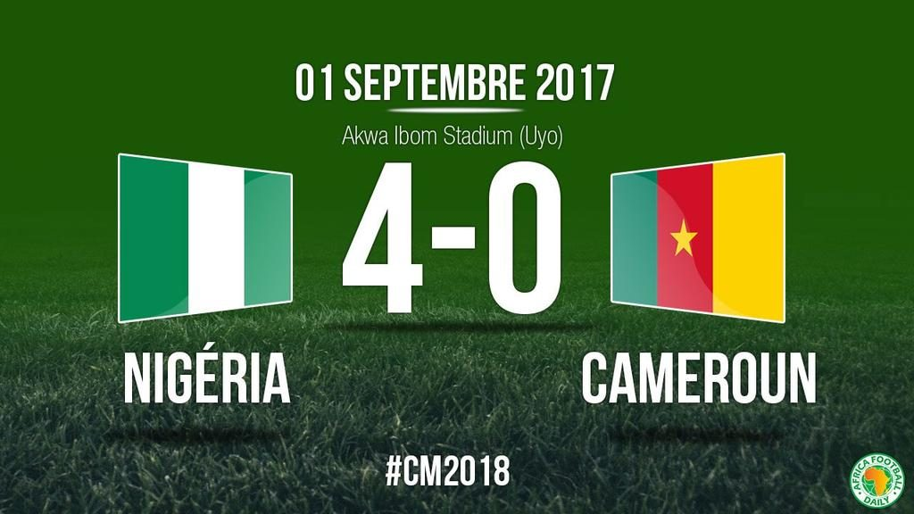 President Buhari lauds Eagles for 4-0 trouncing of Cameroon