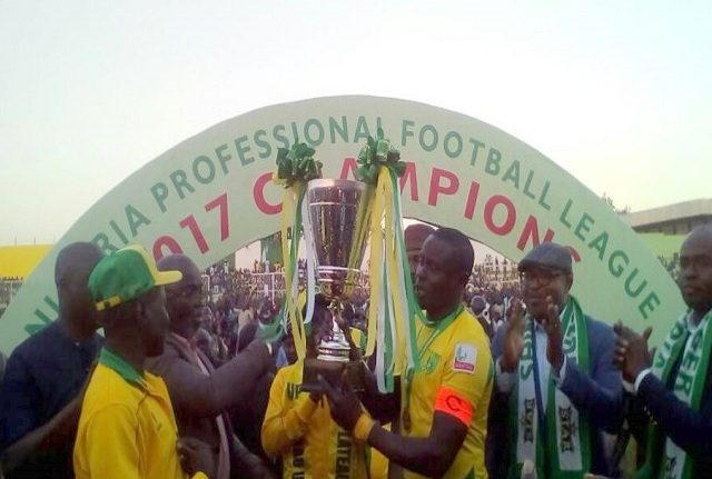 NPFL 2017 : Plateau Utd crowned champions after 2-0 victory over Rangers