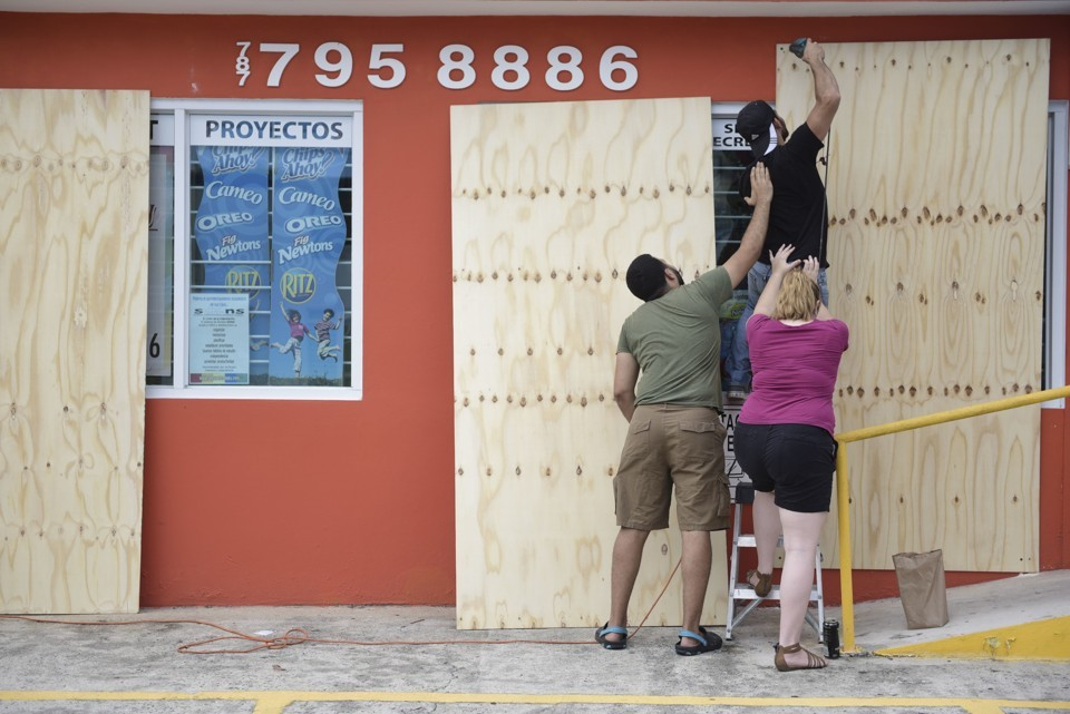 Puerto Rico and the Virgin Islands Brace for Hurricane Irma