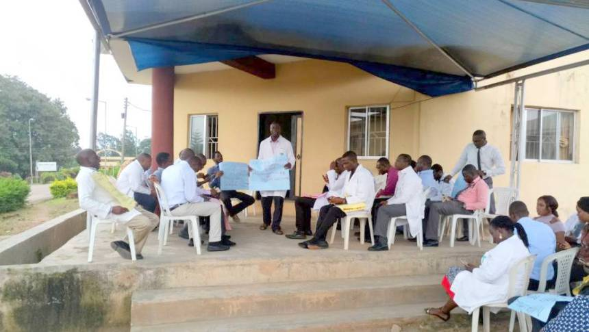 FMC Owo doctors demand payment of salaries shortfall