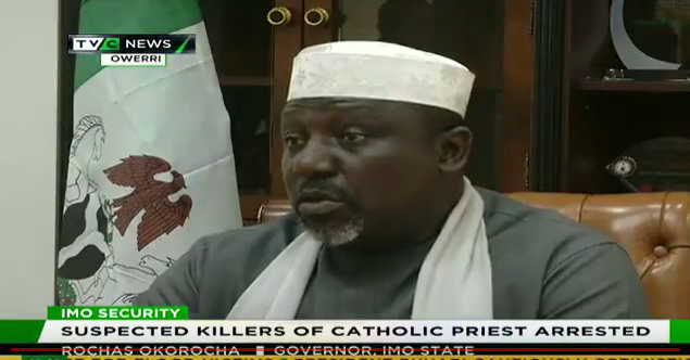 Suspected killers of Catholic Priest arrested