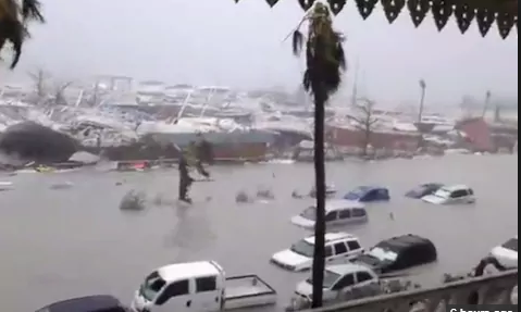 Storm causes major damage in the Caribbean Islands