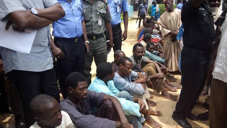 Kano Police Command parades rape, robbery suspects